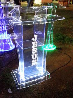 Púlpito LED