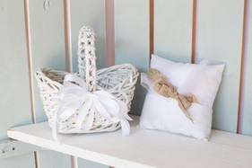 Flower Girl Basket & Ring Bearer Pillow