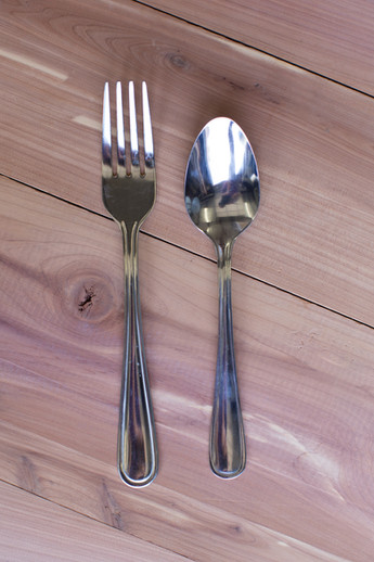 Stainless Silver Flatware