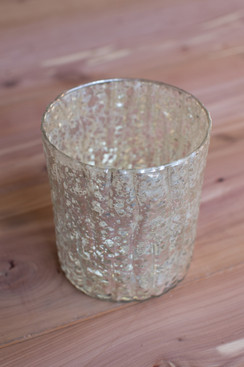 Silver Votive Holder