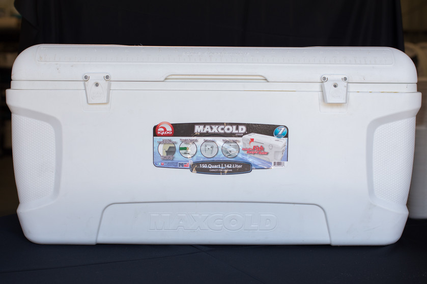 White Maxcold Cooler