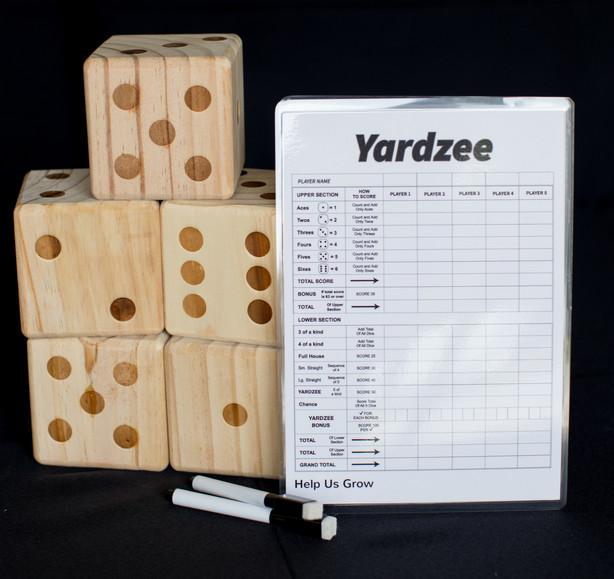 Extra Large Yardzee Game