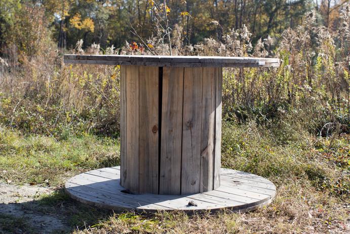 Rustic Spool Table