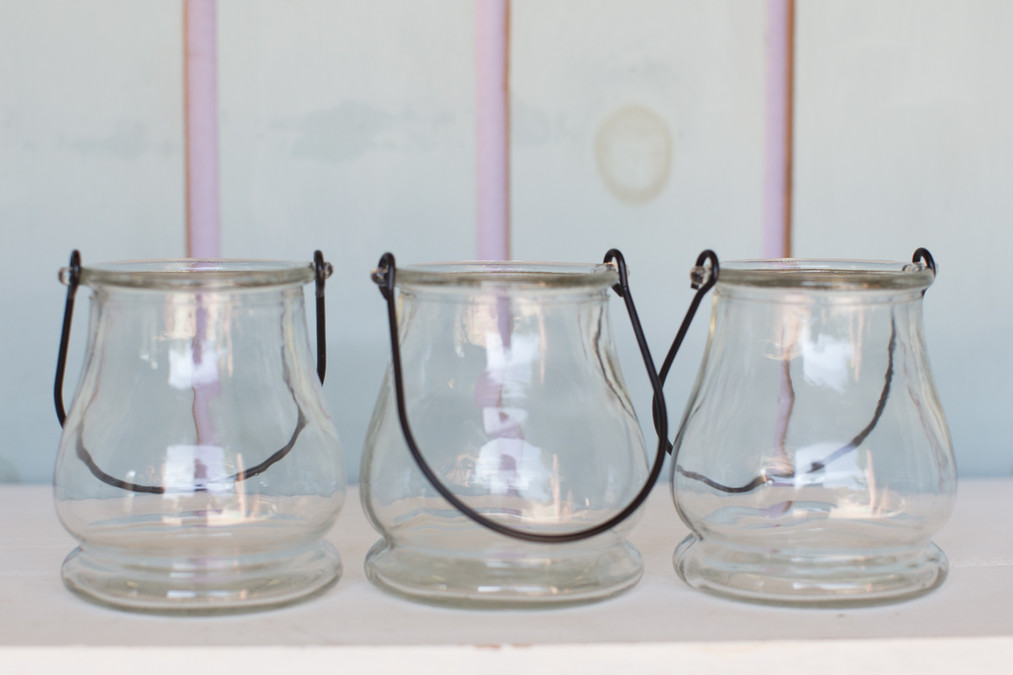 Clear Glass Votive Holders