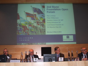 Slynn Foundation Second Forum – Does human rights law mean that the days of national boundaries...
