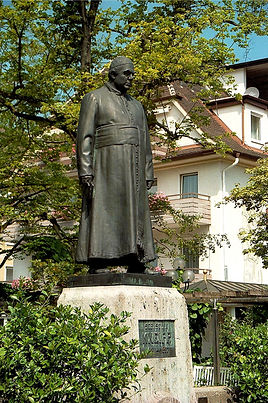 Kneipp-Denkmal in Bad Wörishofen