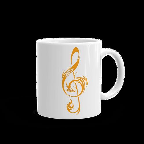 11oz Mug - Gold Logo