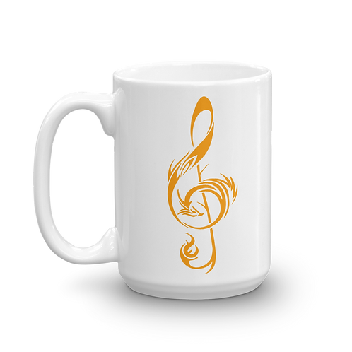 15oz Mug - Gold Logo