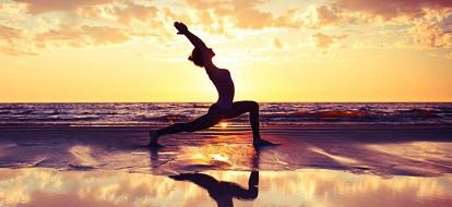 Finding creative ways to build community within EY US-West Assurance: Sunrise yoga!