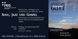 Einladungskarte Konzert