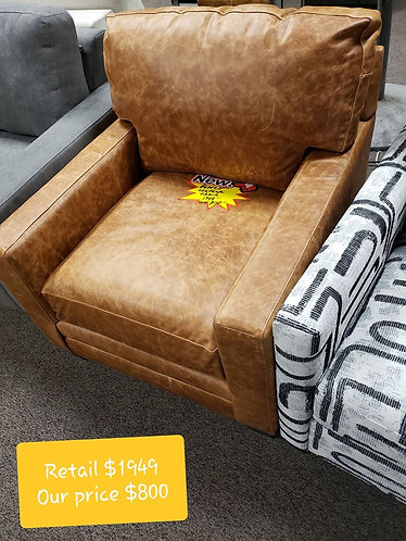 Brown Bassett Chair