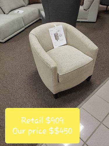 Off white Bassett Chair