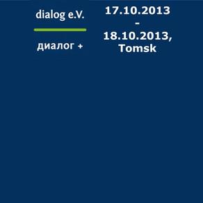 Konferenz in Tomsk 2013