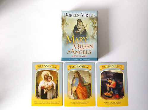 Mary Queen of the Angels, For Angelic Reading
