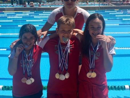 Wettkampf-Trio der Jugend in Medaillenlaune