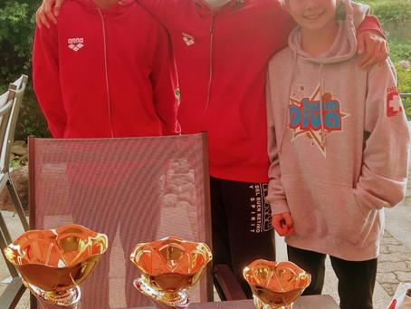 WINT holt drei Pokale in Wädenswil
