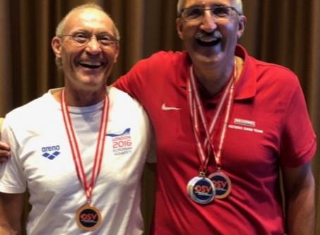 2 erfolgreiche Masters an den österreichischen Meisterschaften mit neuem CH-Rekord in Altersklasse