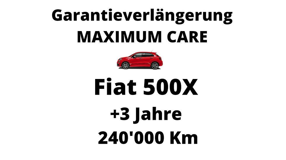 Fiat 500X Garantieverlängerung 3 Jahre 240'000 Km