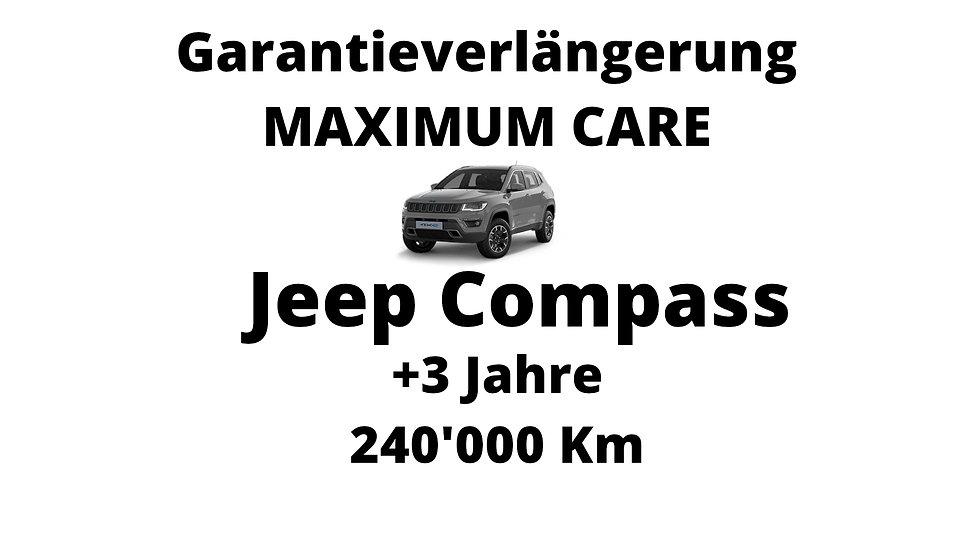 Jeep Compass Garantieverlängerung 3 Jahre 240'000 Km