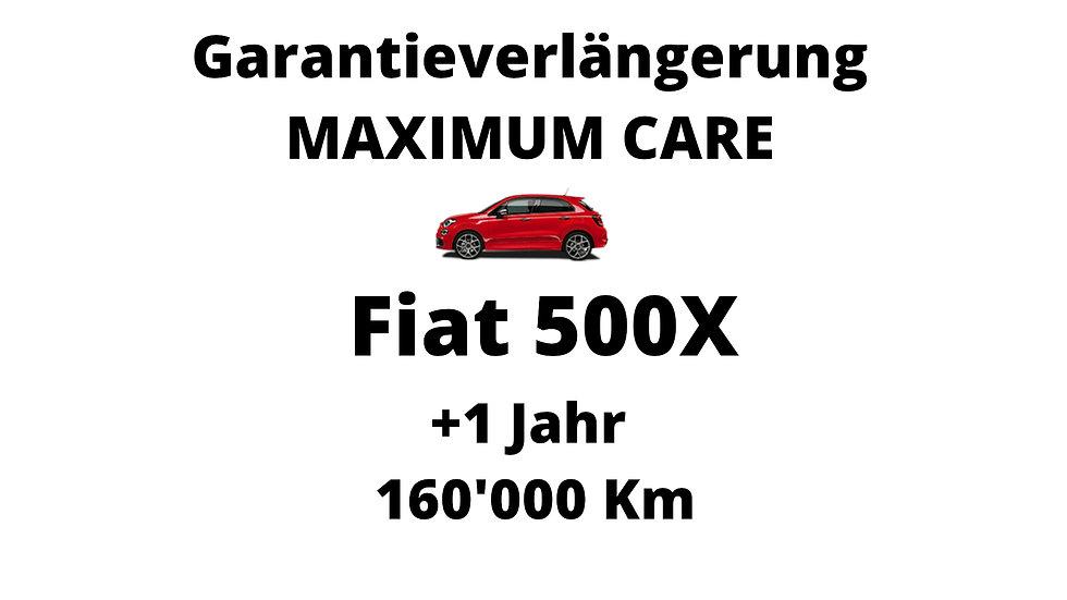 Fiat 500X Garantieverlängerung 1 Jahr 160'000 Km