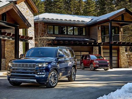 Premiere Jeep® Wagoneer und Grand Wagoneer in den U.S.A.