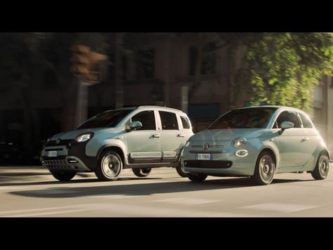 Fiat unterstützt die italienische Fußballnationalmannschaft und feiert diesen großen Moment