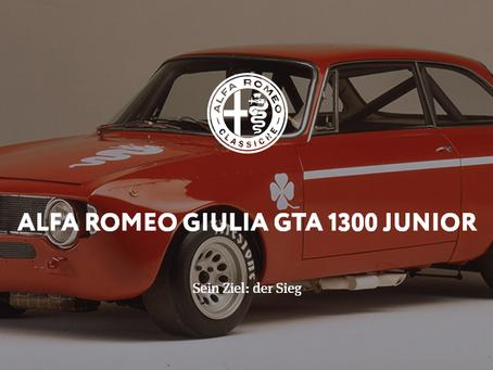 ALFA ROMEO GIULIA GTA 1300 JUNIOR - Sein Ziel: der Sieg