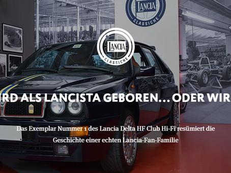 MAN WIRD ALS LANCISTA GEBOREN... ODER WIRD EINER Das Exemplar Nummer 1 des Lancia Delta HF Club