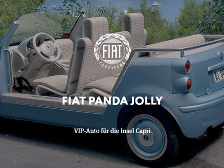 FIAT PANDA JOLLY - VIP-Auto für die Insel Capri