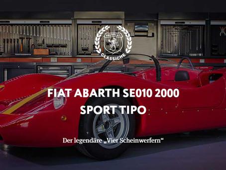 """FIAT ABARTH SE010 2000 SPORT TIPO - Der legendäre """"Vier Scheinwerfern"""""""