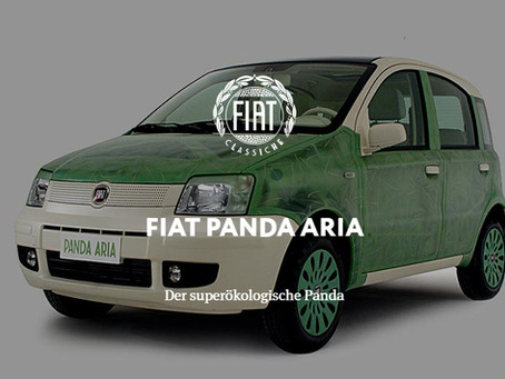 FIAT PANDA ARIA - Der superökologische Panda