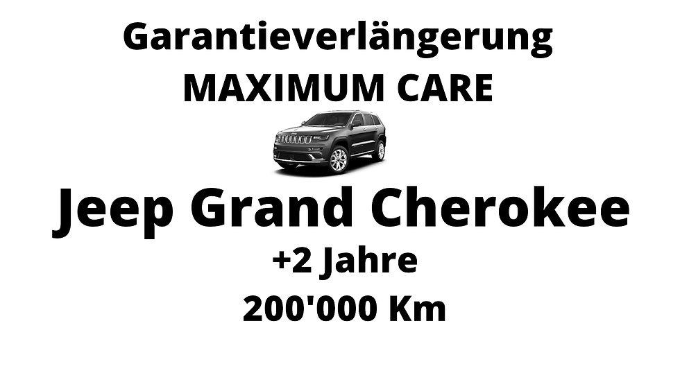 Jeep Grand Cherokee Garantieverlängerung 2 Jahre 200'000 Km