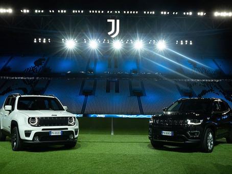 Juventus geht mit elektrisierender Jeep® 4xe-Leistung an den Start