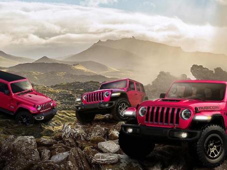 Jeep® präsentiert die Außenfarbe Tuscadero, die jedem Wrangler eine leidenschaftliche Seite verleiht