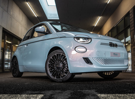 City Garage Wettingen präsentiert neuen FIAT 500 «LA PRIMA»