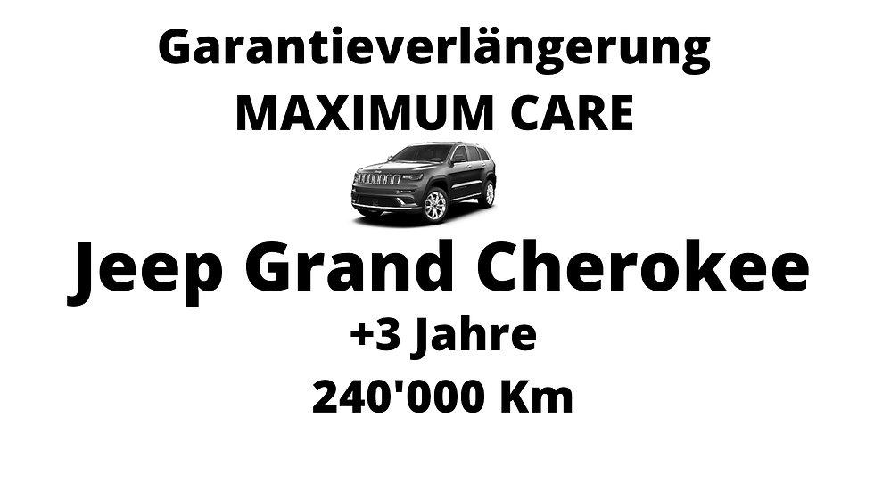 Jeep Grand Cherokee Garantieverlängerung 3 Jahre 240'000 Km