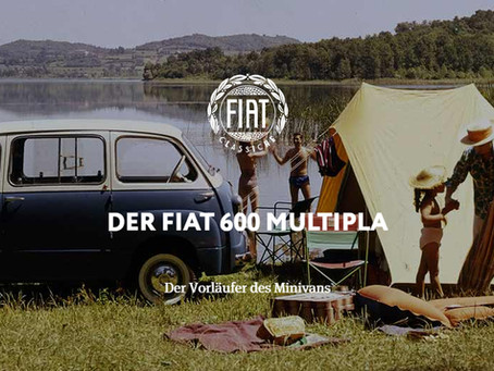 DER FIAT 600 MULTIPLA - Der Vorläufer des Minivans
