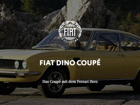FIAT DINO COUPÉ - Das Coupé mit dem Ferrari Herz