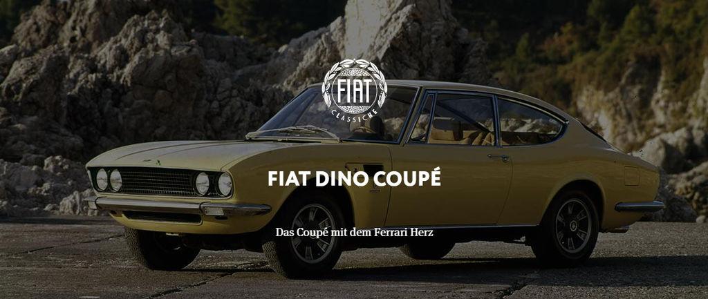Fiat Dino Coupé Das Coupé Mit Dem Ferrari Herz