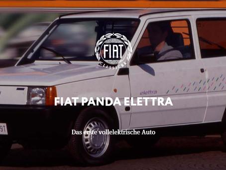 FIAT PANDA ELETTRA - Das erste vollelektrische Auto
