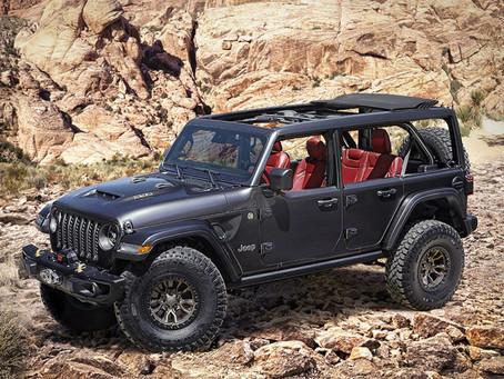 Jeep® stellt neues 6,4-Liter V-8 Wrangler Rubicon 392 Konzept vor