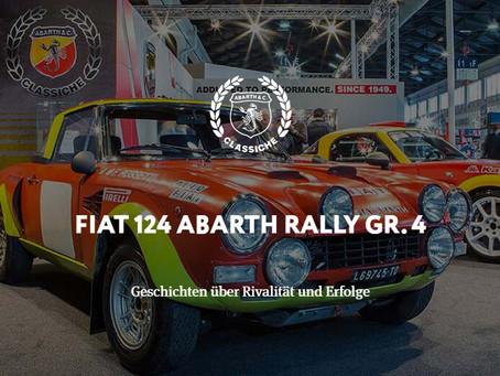 FIAT 124 ABARTH RALLY GR. 4 - Geschichten über Rivalität und Erfolge
