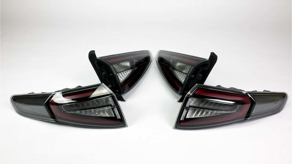 Alfa Romeo Stelvio LED Rückleuchten schwarz
