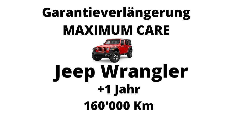 Jeep Wrangler Garantieverlängerung 1 Jahr 160'000 Km