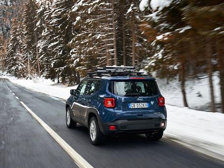 Sorgloses Fahren im Winter mit den Jeep® 4xe-Modellen