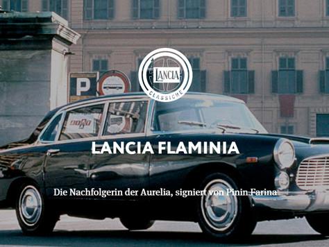 LANCIA FLAMINIA - Die Nachfolgerin der Aurelia, signiert von Pinin Farina