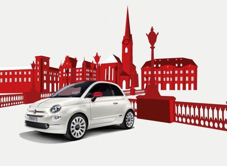 Fiat feiert mit der Schweiz: Ein neuer Wettbewerb der Fiat 500 Swiss Edition