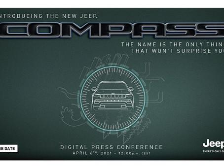New Jeep Compass digitale Pressekonferenz