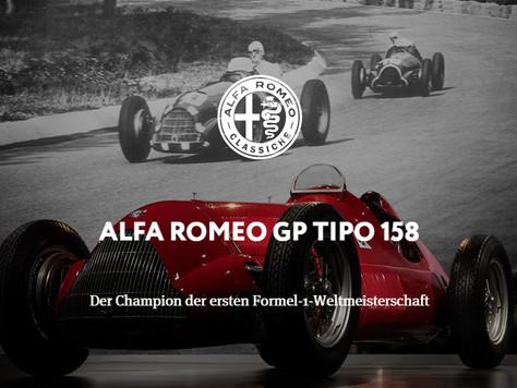ALFA ROMEO GP TIPO 158 - Der Champion der ersten Formel-1-Weltmeisterschaft