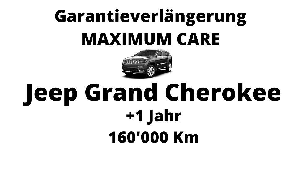 Jeep Grand Cherokee Garantieverlängerung 1 Jahr 160'000 Km
